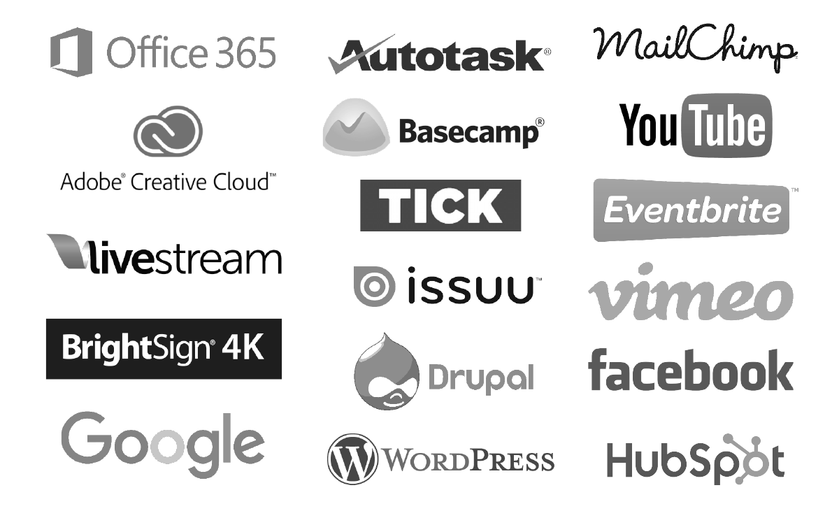 Career Skills logos 3 column